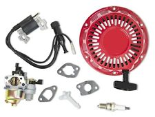 New Kit Fits Honda GX160 GX200 Carburetor Ignition Coil Recoil Spark Plug
