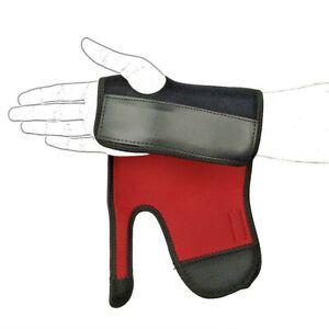 BREATHABLE WRIST HAND BRACE SUPPORT SPLINT ARTHRITIS CARPEL TUNNEL SPRAIN STRAIN