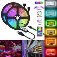 10M 5M USB LED Strip Light RGB 5050 TV Back Lamp Color Changing Bluetooth Remote
