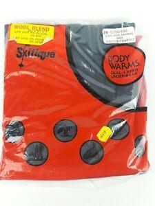 NOS Vintage Skitique Dual Layer Underwear Wool Blend Mens Size Medium 34-36