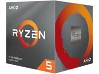 AMD Ryzen 5 3600X 6-Core 12-Thread Unlocked Processor w/ Wraith Spire Cooler