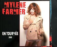 PROGRAMME TOUR BOOK OFFICIEL MYLENE FARMER EN TOURNEE EXCELLENT ETAT 2009