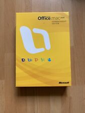 Microsoft Office For Mac 2008 Home & Student Edition