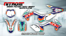 KTM SX 85 2013 2014 2015 2016 2017 Graphics Kit Decal Design Stickers Motocross