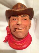 "Vintage Legend Products ""Cowboy"" Chalkware - England 1986"