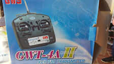 GWS FM 36MHZ Tramsmitter GWT-4A II 4ch with 6ch RX (Mode 1) New Old stock