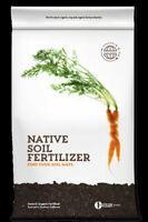 Native Soil Natural Fertilizer and Soil Conditioner (8 pound)