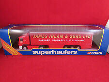 Corgi Superhaulers - Scania Curtainside Curtainsider - James Irlam  1.64 - 59509