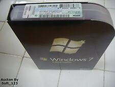 Microsoft Windows 7 Ultimate Full 32 bit & 64 bit MS WIN PRO=BRAND NEW BOX=