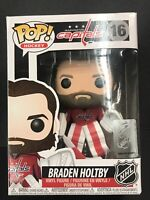 Funko Pop - NHL 16 Braden Holtby Washington Capitals Vinyl Figure  Vaulted