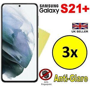 3x HQ MATTE ANTI GLARE SCREEN PROTECTOR COVER GUARD FOR SAMSUNG GALAXY S21+ PLUS