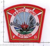 Massachusetts - Boston Marine Unit MA Fire Dept Patch