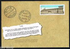 ITALIA 1 INTERO POSTALE ROMA QUIRINALE CODICE A BARRE 1519 - 2013 nuova (BI2213)