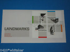 "AUSTRALIA POST First Day Cover 2007 ""LANDMARKS"" 4 Stamp FDC mint & unused"
