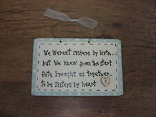 Shabby Handcrafted personalised chic. Sisters by heart.