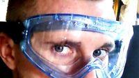 Safety Goggle Anti-Fog - ANSI Z87.1 Approved