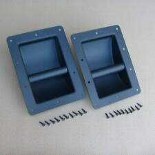 pair of compact size steel bar handles