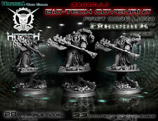 Hitech Miniatures - 28SF042 General Lord Exhorder 28mm Warhammer 40k 40000