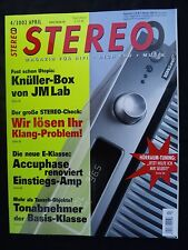 Stereo 4/02 Marantz PS 17,sm 17, Benz mc20e2, Clearaudio a. CL, Denon dl 110. grado B