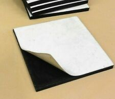 Neoprene Rubber Solid Sheet w/ Peel-Back Adhesive 1/4