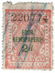 (I.B) Great Eastern Railway : Four Newspapers 2d