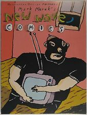 MANHATTAN DESIGN PRESENTS MARK MAREK'S NEW WAVE COMICS [Signed]