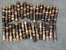 34 Rod Building Wrapping Vintage Brown/Copper Aluminum reel seats