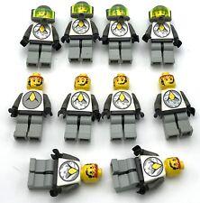 Lego 10 Classic Space Exporlien Minifigures Astronaut Figures
