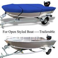 3.9-4.1m Trailerable Heavy Duty Open Boat Cover Waterproof UV DUST PROTECT