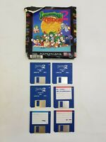 Lemmings 2 The Tribes Amiga Big Box Computer Game CBM Commodore Vintage Complete