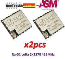 2pcs Ra-02 LoRa SX1278 433MHz Wireless Serial Port UART Interface Ra02