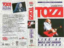 VHS UMBERTO TOZZI live at toronto