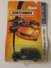 Matchbox - MBX Metal - Austin Mini Van 1965 - Sealed - Some Wear