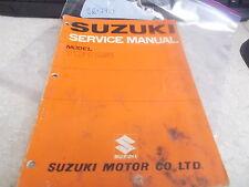OEM Suzuki Service Manual (Pg1-24) 1971 TC125 SR-2810
