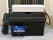 2500/5000 Watt Solar Generator w/ 2 100w Solar Panels 100AH Battery Portable