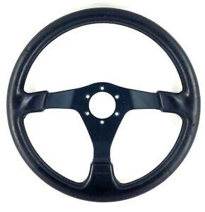 Genuine Nardi Subaru Impreza WRX STi classic black leather steering wheel. 7D