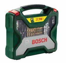 Bosch X-Line De Titanio De 70 piezas Juego de Accesorios Taladro &