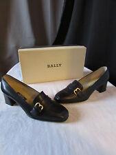 chaussures bally cuir bleu marine pointure EUR 4/US 6,5