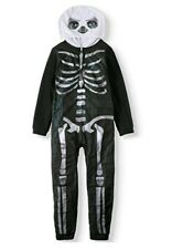 Fortnite Union Suit Costume Skull Trooper Unisex Adult Polyester Size 2XL NWT