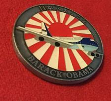 challenge coin    BARACK OBAMA  U.S. Air Force One 1 airplane JAPAN