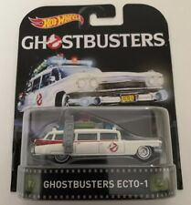 HOT WHEELS RETRO GHOSTBUSTERS ECTO-1 New In Package DC 1:64