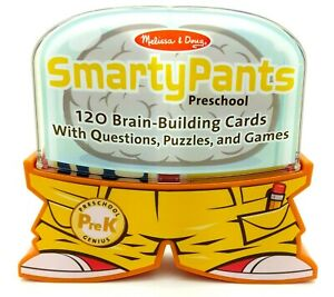 Melissa & Doug SMARTY PANTS - Preschool PreK  Educational Flash Card Set NEW OB