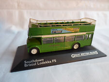 Atlas 1:76 Great British Buses Southdown Bristol Lodekka FS Bus Car Toy
