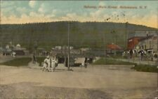 Salamanca NY Main St. Subway c1910 Postcard