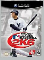 Major League Baseball MLB 2K6 Nintendo Gamecube Game Used