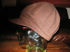 Kangol Spitfire Brown Beret Peaky Blinders Baker Boy Hat Cap (Small)