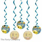 Emoji Girls Boys Birthday Party Decorations Banners Hanging Decorations X 3
