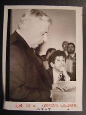 Glossy Press Photo 1982 Waltham Police Chief Edward Sicotte & Anthony Mandile