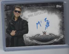 THE MIZ 2015 TOPPS WWE UNDISPUTED ON CARD AUTO /50
