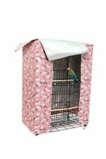 hi hide friends Large Bird Cage Cover Good Night Parakeet Cage Cover Washable Pa